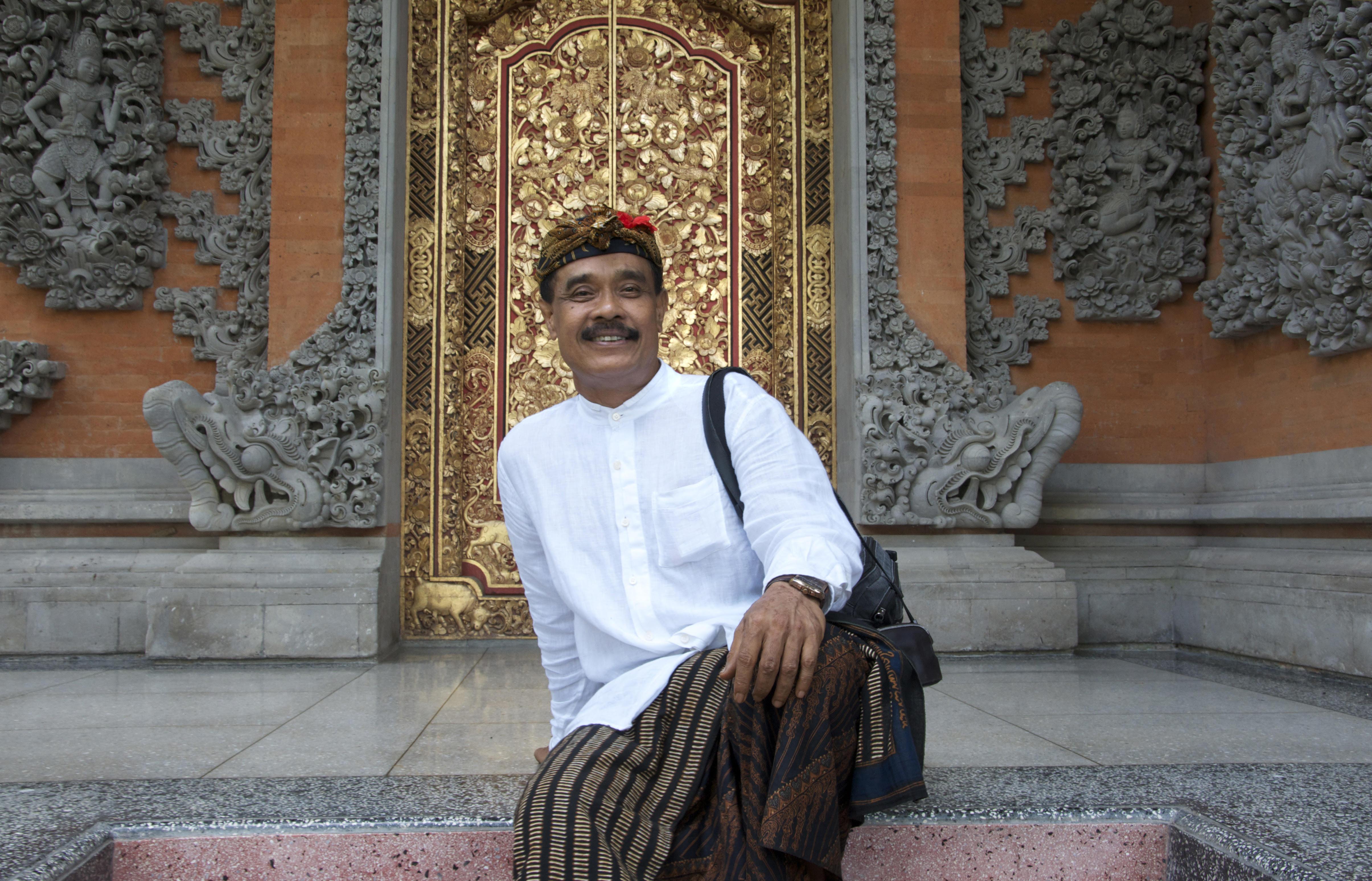 Image result for Bapak Agung Rai